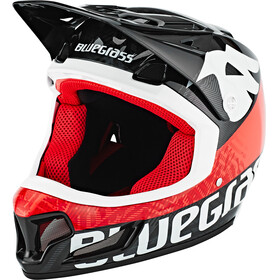 bluegrass Brave Fullface-Helmet black/red